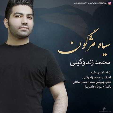 دانلود آهنگ محمد زند وکیلی به نام سیاه مژگون