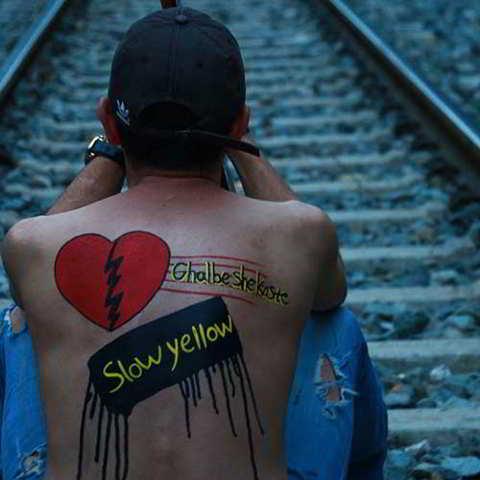 دانلود آهنگ گروه زرد یواش به نام قلب شکسته